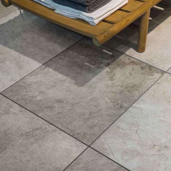 Silas Grey 60x60 cm Porcelain Paver Decking - HDG Building Materials