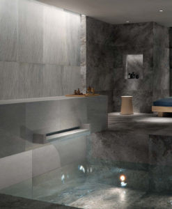 Silas Rain 60x60 cm Porcelain Paver Spa Floor and Wall Application - HDG Building Materials