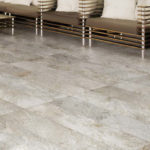 Silas White 10mm Porcelain Tile in Indoor Application - Easily Transitions to 20mm Outdoor Applications feature - HDG Building Materials