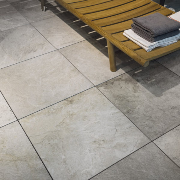 Silas White 60x60 Porcelain Paver Decking - HDG Building Materials