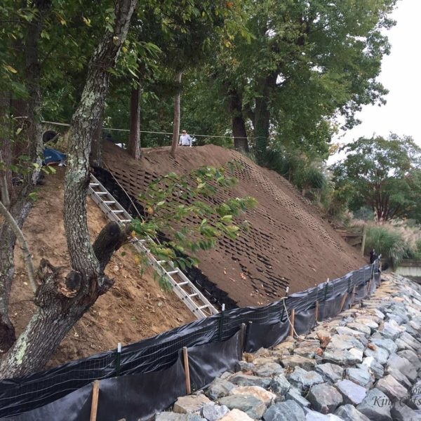 SlopeGrid Geosynthetic Materials for Erosion Control