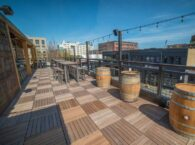 Post pandemic rooftop decks will be very popular like this 10 Barrel Brewing Patio
