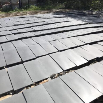 Poipu Black Basalt Hone Tiles - HDG Building Materials