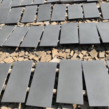 Poipu Black Basalt Sandblasted and Brushed Finish - HDG Building Materials