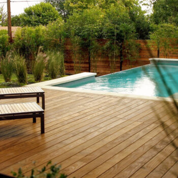 Kebony Wood Decking with Step Clip Fasteners - HDG Building Materials