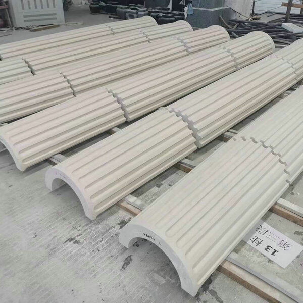 Fluted Column Building Stone for Archecture