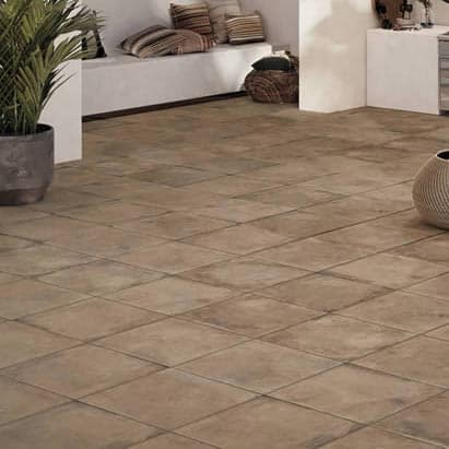 HDG Copper 60x60cm Porcelain Paver Layout