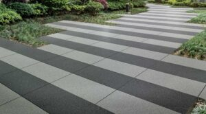 Metro Grey and Metro Light Grey Porcelain Paver