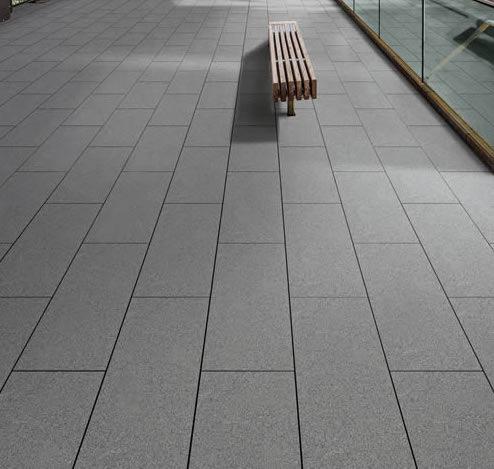Metro Grey Concrete Look Porcelain Pavers 30x60cm 2cm Thick