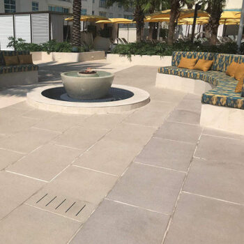 HDG Tech Fine Series Concrete Pavers in Poolside Lounge