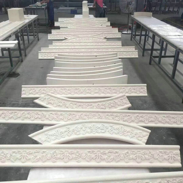 Natural Limestone Frieze and Lintel Building Stone for Architects