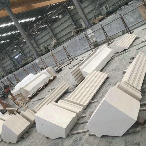 Natural Stone Columns and Pilasters in Large Scale HDG Fabrication Partner in China