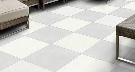 Terra Cream Concrete Look Porcelain Paver