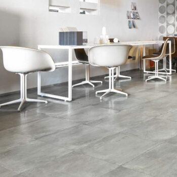 24x24 inch Cemento Ash Concrete Look Porcelain Paver