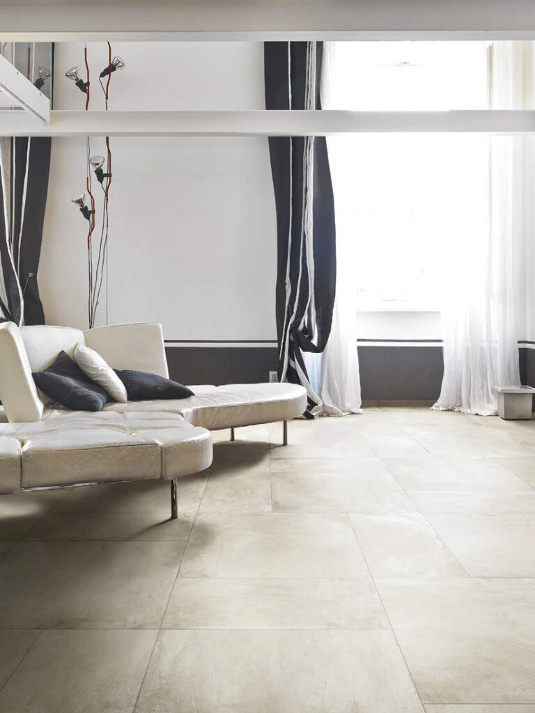 Cemento Chalk Porcelain Pavers in Multiple Sizes