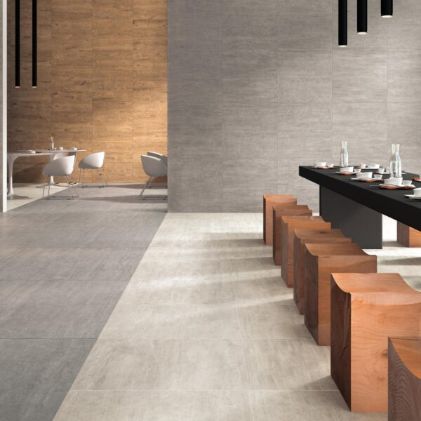 Cromo 60x60 cm Porcelain Pavers in Hospitality Application