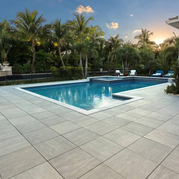 Cromo Porcelain Pavers Outdoor Terrace Application