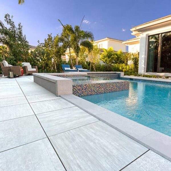 Cromo Porcelain Pavers Pool Surround