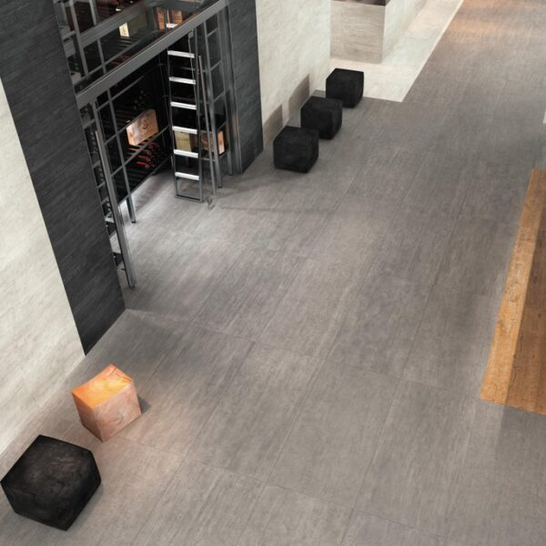 Cromo Textured Antislip Porcelain Pavers in Dining Application