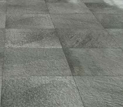Fusa Ash Porcelain Pavers Layout