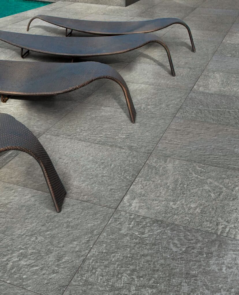 Fusa Manhattan Grey-Colored 24x24 Inch Porcelain Pavers