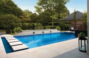 Pool Decking Application with Fusa Luna 60x60 in Porcelain Pavers