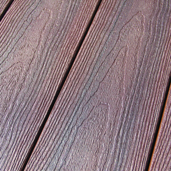 DuxxBak Composite Waterproof Decking System Wood Grain Surface Detail
