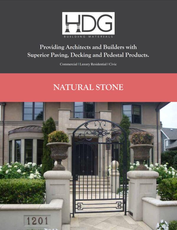 HDG Natural Stone Brochure Preview Thumbnail