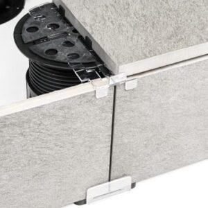 Buzon PB-END-Finishing Kit for Porcelain Paver Slab Terraces Square