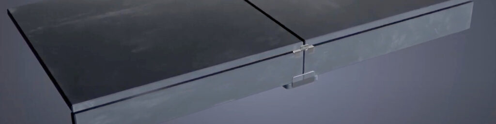 Use Buzon PB-Edge for Finish the Edge on a Porcelain Deck