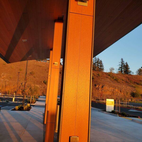 Vancouver Clinic Camas WA with Resysta Composite Column