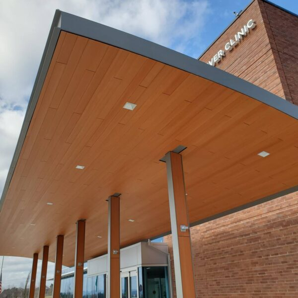 Vancouver Clinic Camas WA with Resysta Soffits - HDG Building Materials