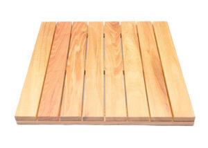 HDG Black Locust Deck Tile Top Slats-true white