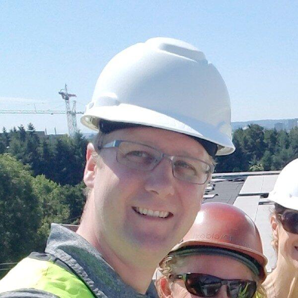 Jay Ashland at Construction Site - HDG Building Materials